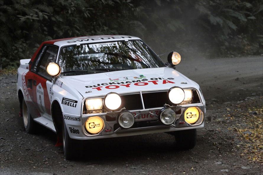 デモランで使用されたマシンは1986年「アイボリーコーストラリー」での優勝車両