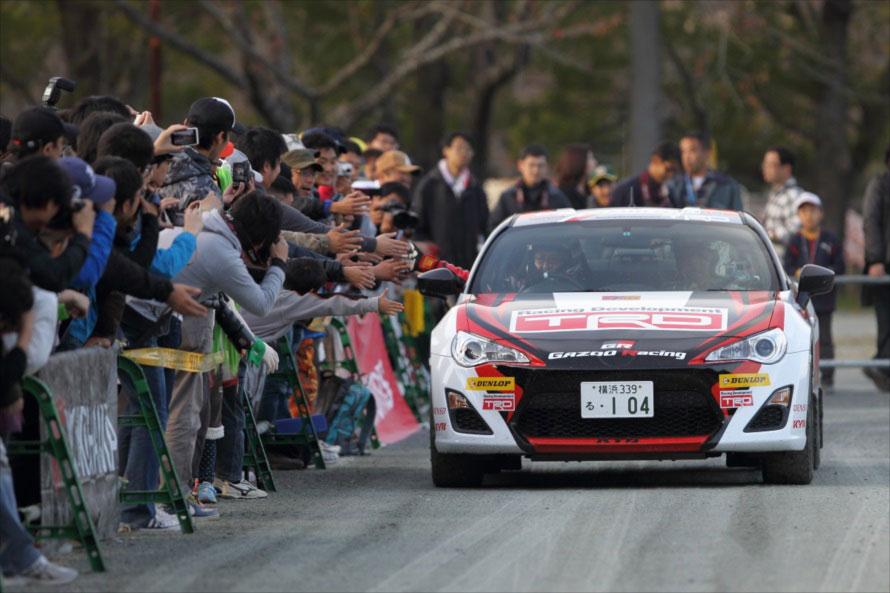 会場でのモリゾウ選手の人気は高いが、実はここからトヨタのWRC参戦がはじまっていた