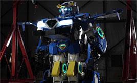 あのトランスフォーマーが現実に! 乗用人型変形ロボットJ-deite RIDE登場