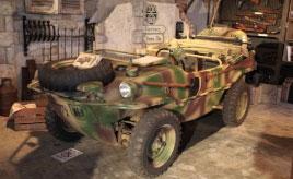 趣味で始めた「社長の小部屋」は軍用車両の私設博物館!