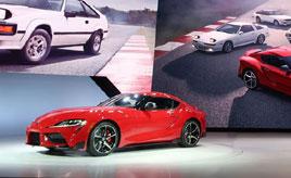 もうすぐ日本発売する新型スープラも! デトロイトショーでデビューした注目の日本車5台