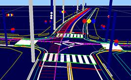 3次元データ、誤差は10cm以内-自動運転時代に求められる道路地図とは