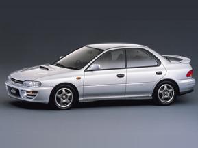 スバル インプレッサWRX…90年代、リッター100馬力超モデル