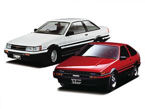 トヨタ・4代目カローラレビン/スプリンタートレノ (1983年~) トヨタ名車列伝8話
