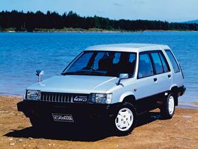 スプリンター・カリブ(1982) トヨタが未来に挑戦したクルマたち