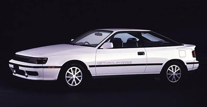 セリカGT-FOUR(1988) トヨタが未来に挑戦したクルマたち