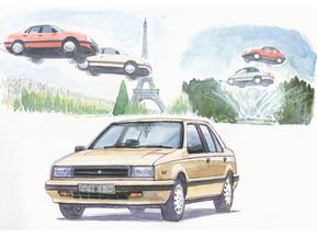 いすゞ・ジェミニ…CMが印象的だったクルマ