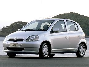 トヨタ・ヴィッツ…なつかしい日本のコンパクトカー