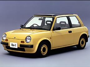 日産・Be-1…なつかしい日本のコンパクトカー