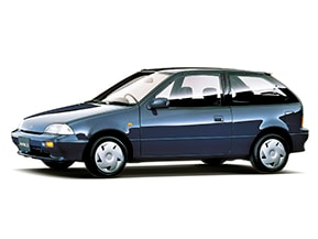スズキ・カルタス…なつかしい日本のコンパクトカー