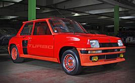 ルノー5ターボ…記憶に残るミドシップ車