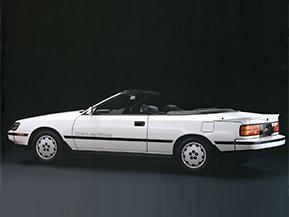 トヨタ・セリカ コンバーチブル…みんなで乗れる国産オープンカー