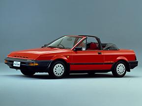 日産・パルサー エクサ コンバーチブル…みんなで乗れる国産オープンカー