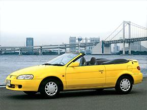 トヨタ・サイノス コンバーチブル…みんなで乗れる国産オープンカー