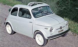 フィアット500・・・リアエンジン・リアドライブの名車特集