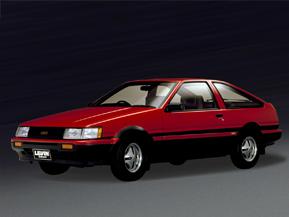 トヨタ・カローラレビン/スプリンタートレノ(AE86)(1983年~) トヨタ 歴代スポーツカー<1980年代>2話