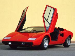 ランボルギーニ・カウンタック…スーパーカーブームの花形モデル