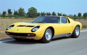 ランボルギーニ・ミウラ…スーパーカーブームの花形モデル