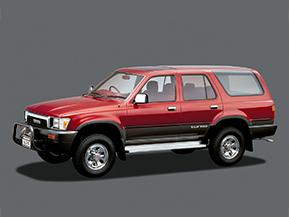 トヨタ・ハイラックスサーフ…日本が生んだ代表的SUV