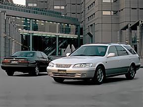 トヨタ・カムリグラシアステーションワゴン/マークIIクオリス…なつかしのワゴン車特集