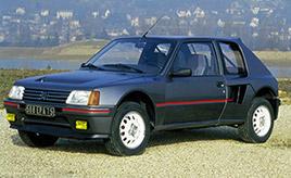 プジョー205ターボ16…WRC参戦マシンのベース車特集