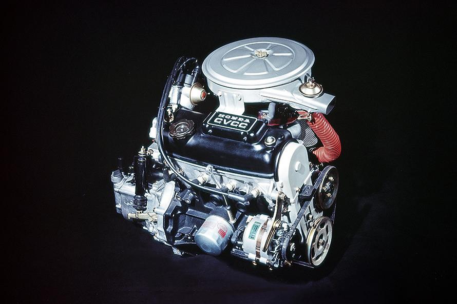 ホンダのCVCCエンジン
