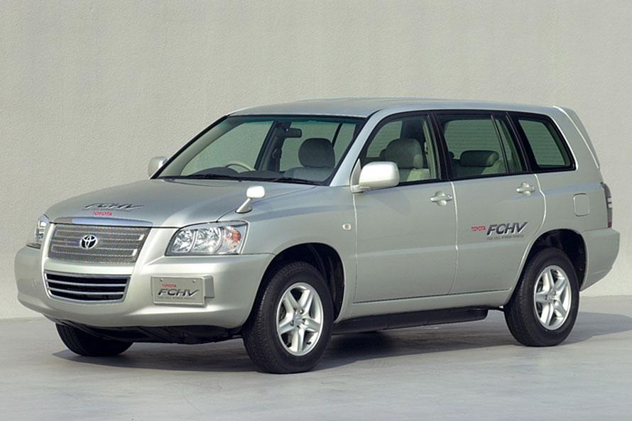トヨタFCHV