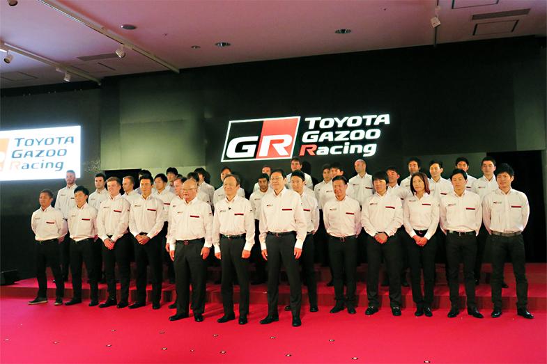 TOYOTA GAZOO Racingの数々のカテゴリーの活動が発表