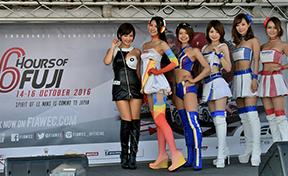 WECセレモニーガール ~WEC富士6時間レース~