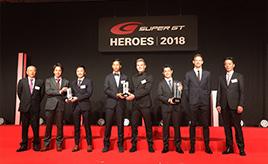 SUPER GT HEROES 2018開催! ~こっちのスーツも素敵!たまには、ミーハー目線レポート~