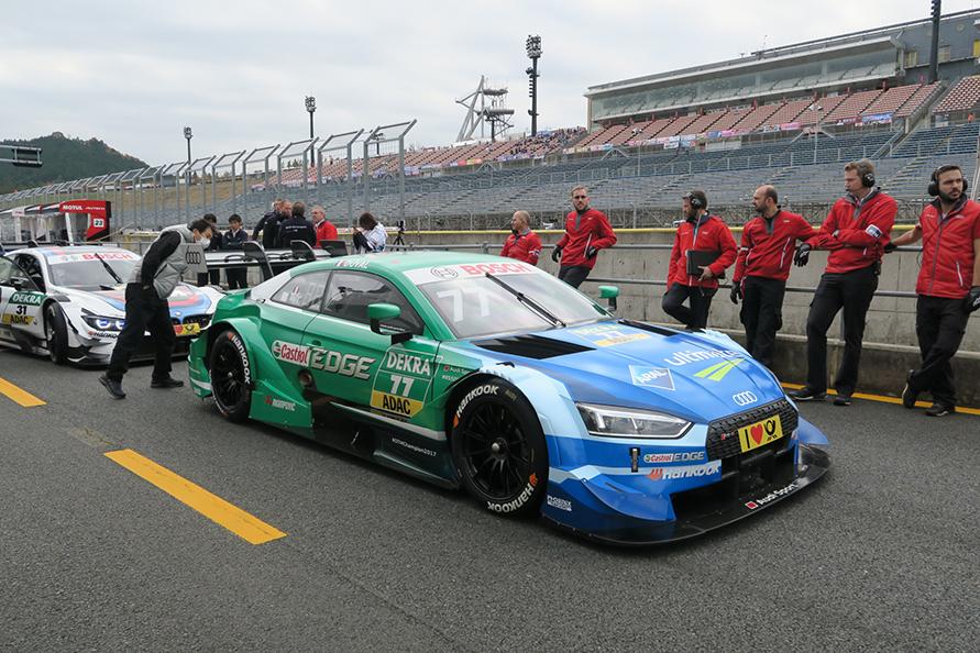 2017年 SUPER GT最終戦より