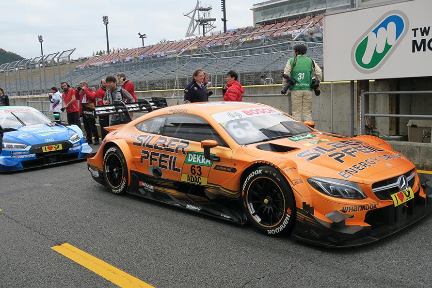No.63 Mercedes-AMG DTM Team HWA/マロ・エンゲルス選手