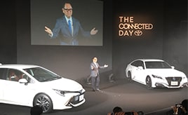 トヨタ自動車が「THE CONNECTED DAY」にて新型クラウン、カローラを同時発表