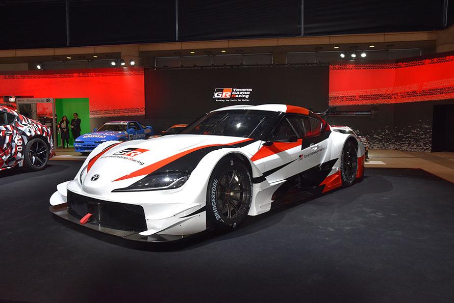 公開されたGR Supra SUPER GT CONCEPT