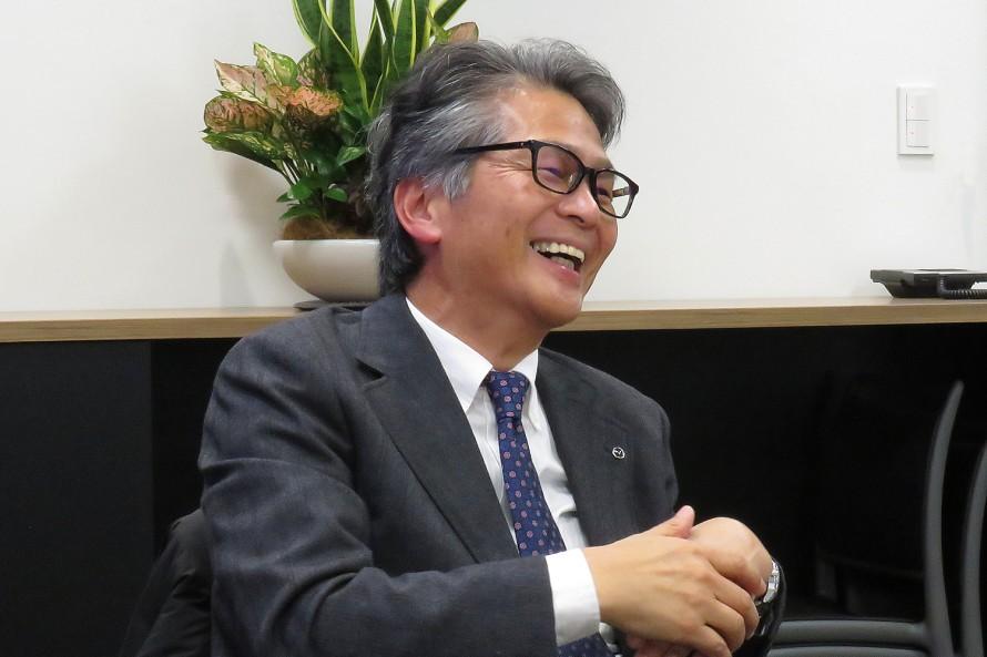 山本修弘さんはNC型、ND型と2代にわたりロードスターの開発を主導した人物。レストアサービスについても積極的に取り組んだが、販社からの「現実的ではない」という反対には正直、凹んだという。