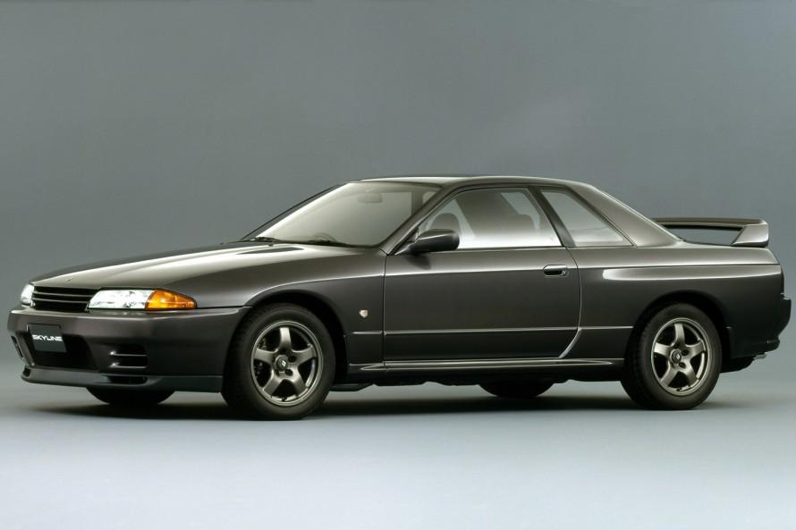 1989年から1994年まで販売されたR32型スカイラインGT-R。部品の復刻は、第2世代GT-Rの中でも最も人気の高い、このモデルのものからスタートした。