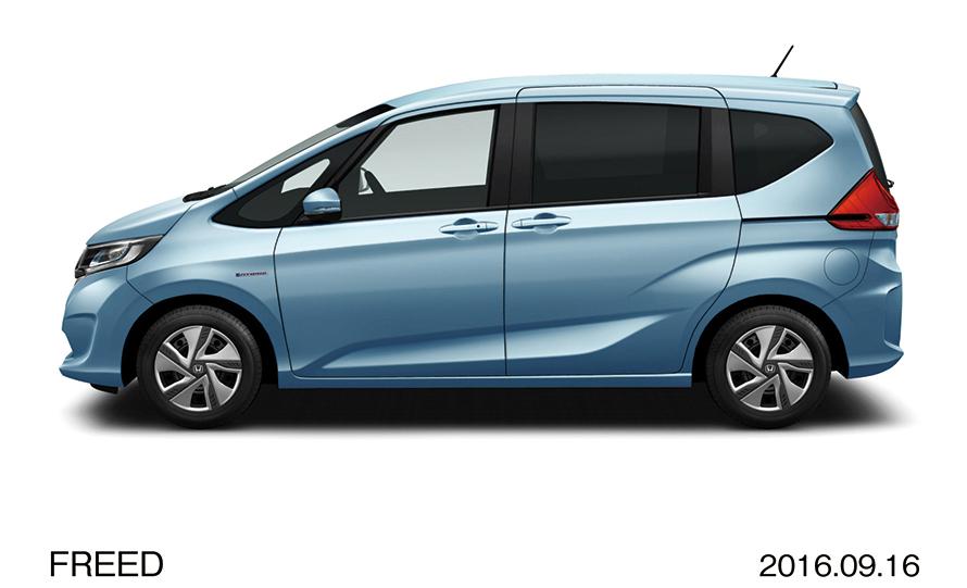 ホンダの「フリード HYBRID G・Honda SENSING」。2016年発売なので割引もかなり期待できそう。