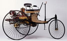 【GAZOO クルマクイズ Q.1】1886年に特許を取得した、世界初のガソリン自動車とされる「パテント・モートルヴァーゲン」をつくった人物は?