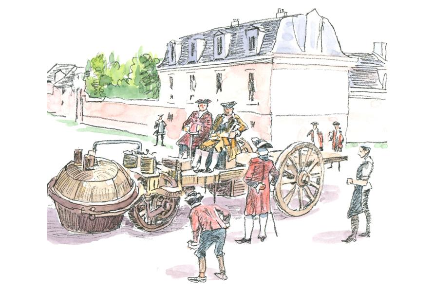 【GAZOO クルマクイズ Q.84】世界初の自動車とされる「キュニョーの砲車」についての記述で、正しくないものは?