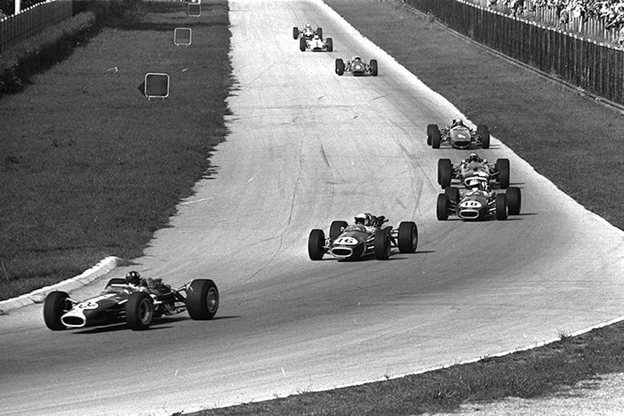 1967年当時のF1世界選手権の様子。