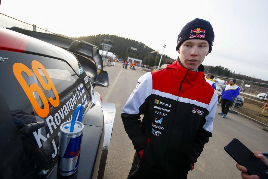 まだ表情にあどけなさが見えるロヴァンペラ/写真:TOYOTA GAZOO Racing