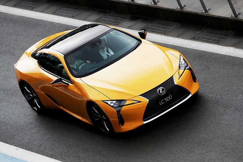 レクサスlc ポイント解説 トヨタ自動車のクルマ情報サイト gazoo