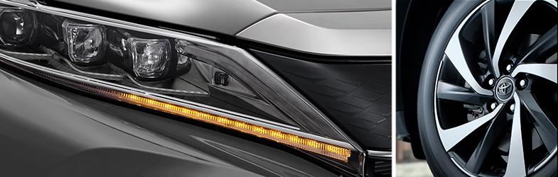 LEDヘッドランプ+シーケンシャルターンランプ ターボ車専用18インチアルミホイール