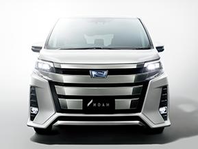 【新旧比較】トヨタ ノア マイナーチェンジ (2017年7月)
