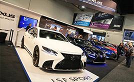 【SEMA特集】日本車メーカーブースにもカスタムカーがズラリ!!