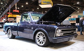 【SEMA特集】シボレーが復刻した50年前のピックアップトラック!「CHEVROLET C10」