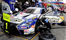 【SUPER GT】GT500 平川/キャシディ組LEXUS LC500が3位表彰台