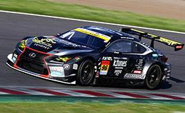 【SUPER GT】GT300 新田/中山雄一組LEXUS RC F GT3がポール・トゥ・ウィン!
