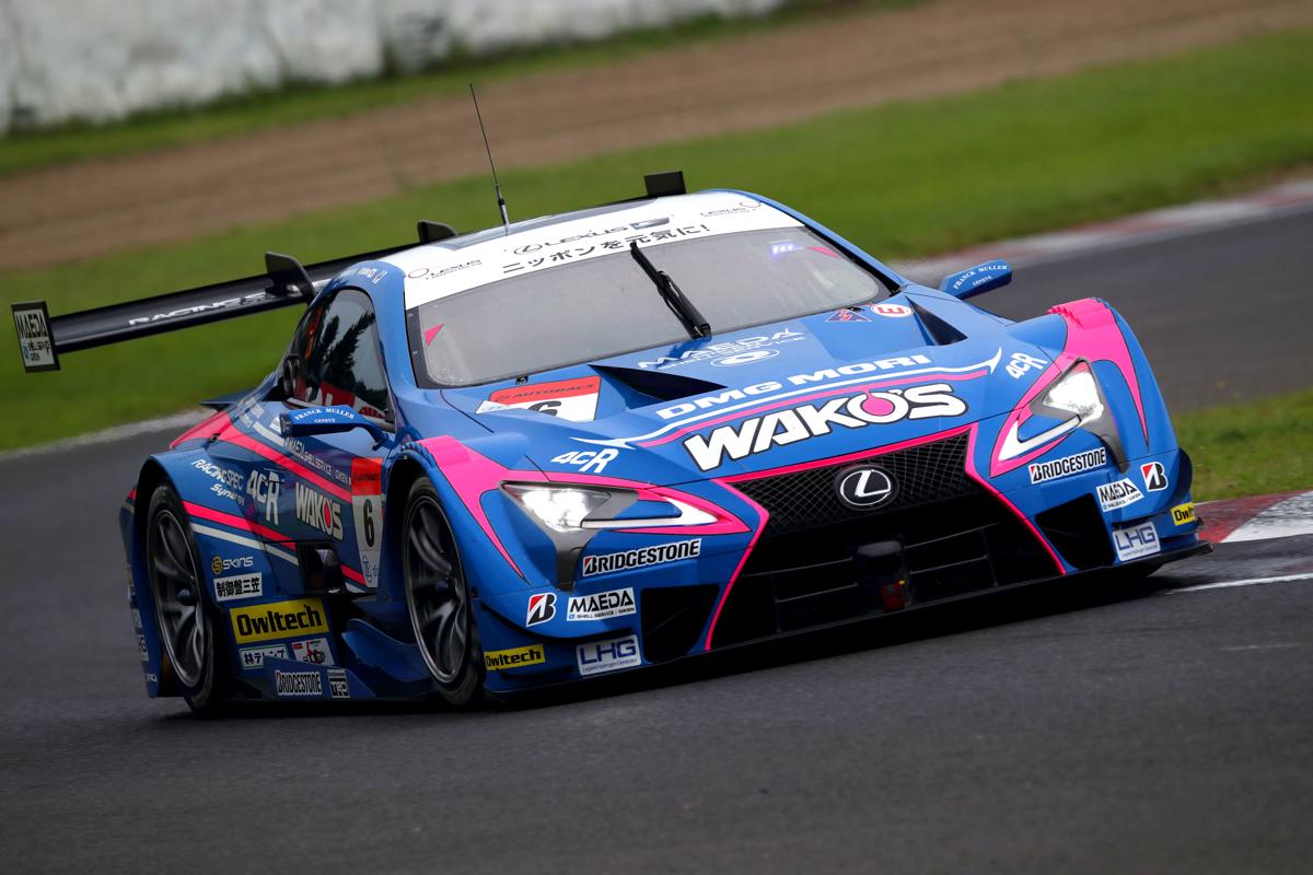 WAKO'S 4CR LC500 6号車(大嶋 和也/フェリックス・ローゼンクヴィスト)
