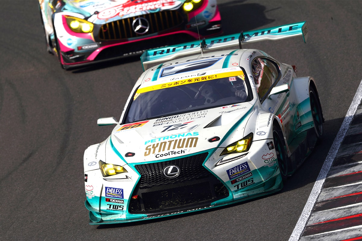 SYNTIUM LMcorsa RC F GT3 60号車(吉本 大樹/宮田 莉朋)